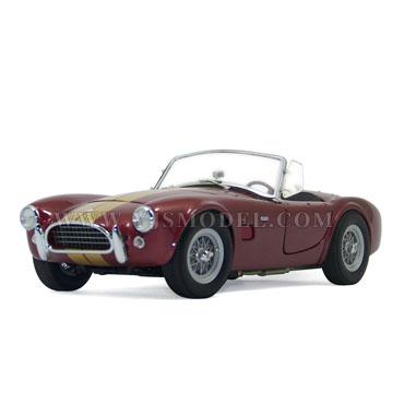 1963年希尔比眼镜蛇 汽车模型 1:18 红色