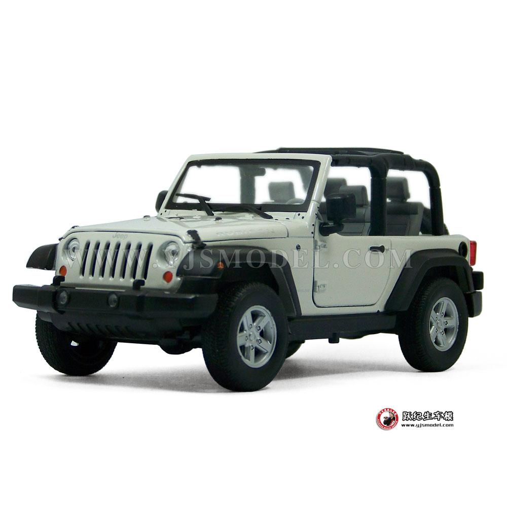 敞篷jeep吉普 牧马人 汽车模型