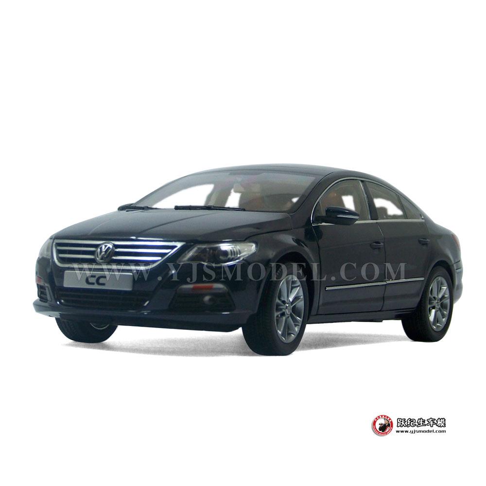 大众cc汽车模型_大众CC 汽车模型 一汽大众原厂 1:18 深蓝色_1:18_【国产汽车模型 ...
