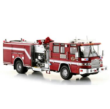 皮尔斯消防车价格_皮尔斯昆腾消防车模型
