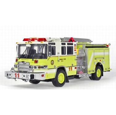 皮尔斯消防车价格_皮尔斯昆腾消防车模型 亨利科#10 twh081c-01110