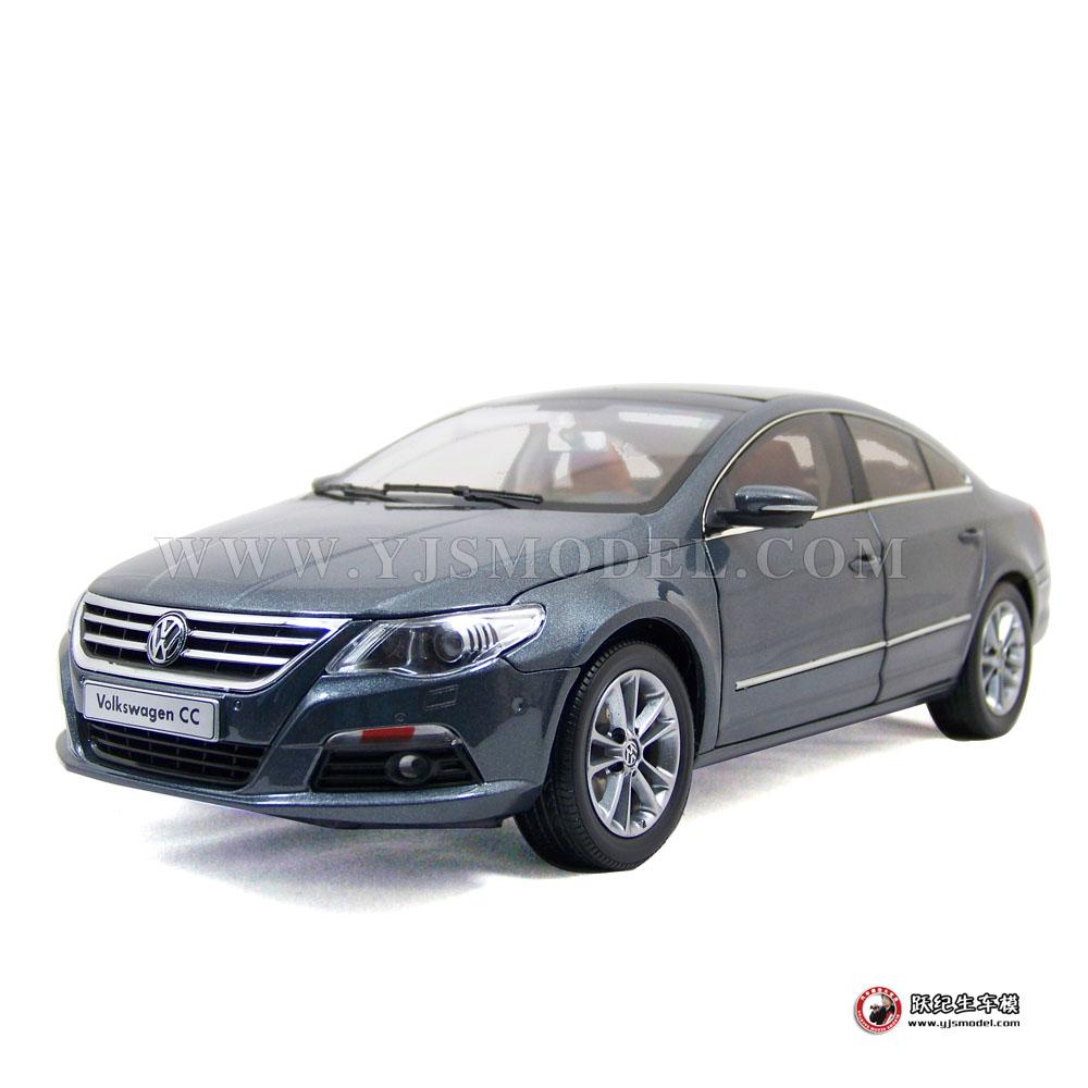 大众cc汽车模型_大众CC 汽车模型 一汽大众原厂 1:18 灰色_1:18_【国产汽车模型 ...