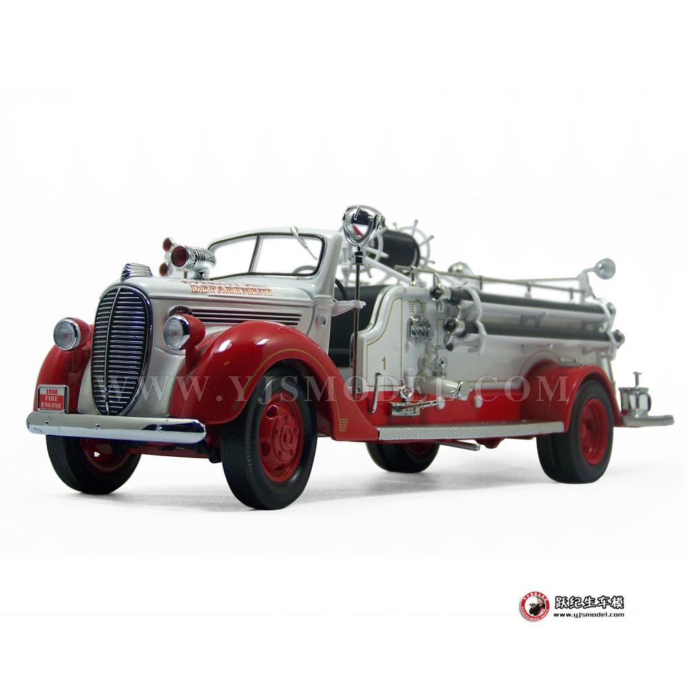 1938年福特gmc消防车 一鸣