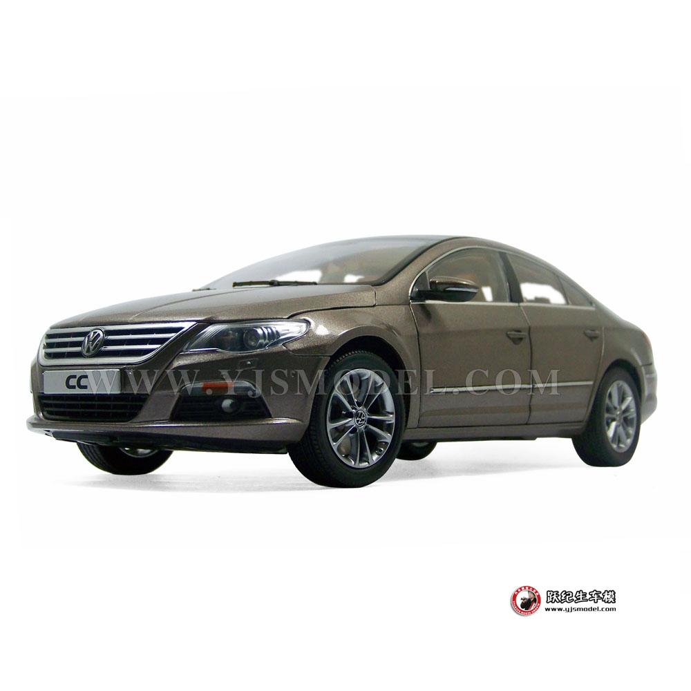 大众cc汽车模型_大众CC 汽车模型 一汽大众原厂 1:18 金色 1002014_1:18_【国产汽车 ...