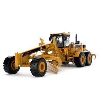 工程车模型_卡特彼勒24H大型平地机 工程车模型 Caterpillar 1:50 55133-跃纪生 ...