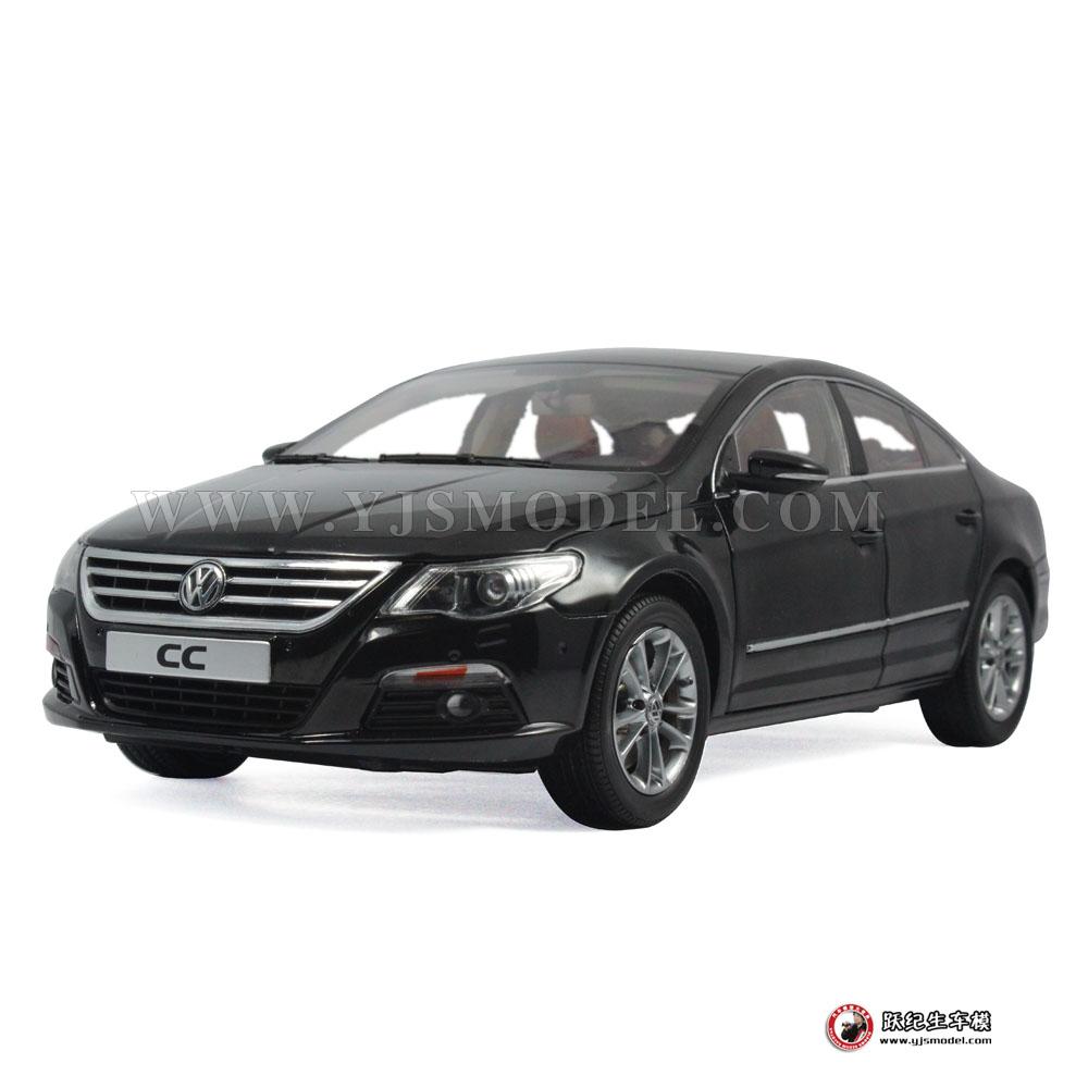 大众cc汽车模型_大众CC 汽车模型 一汽大众原厂 1:18 黑色_1:18_【国产汽车模型 ...