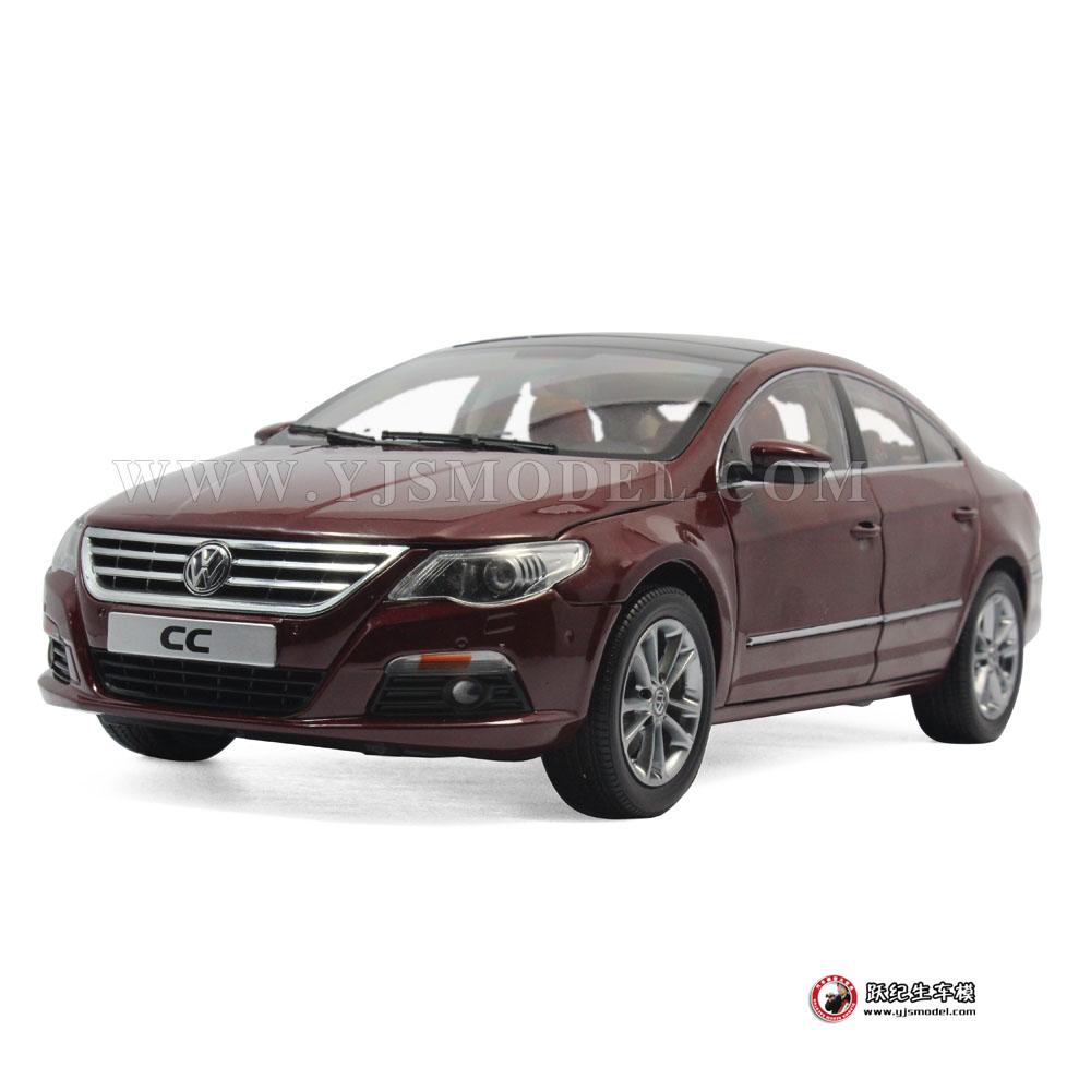 大众cc汽车模型_大众CC 汽车模型 一汽大众原厂 1:18 红色 1002015_1:18_【国产汽车 ...