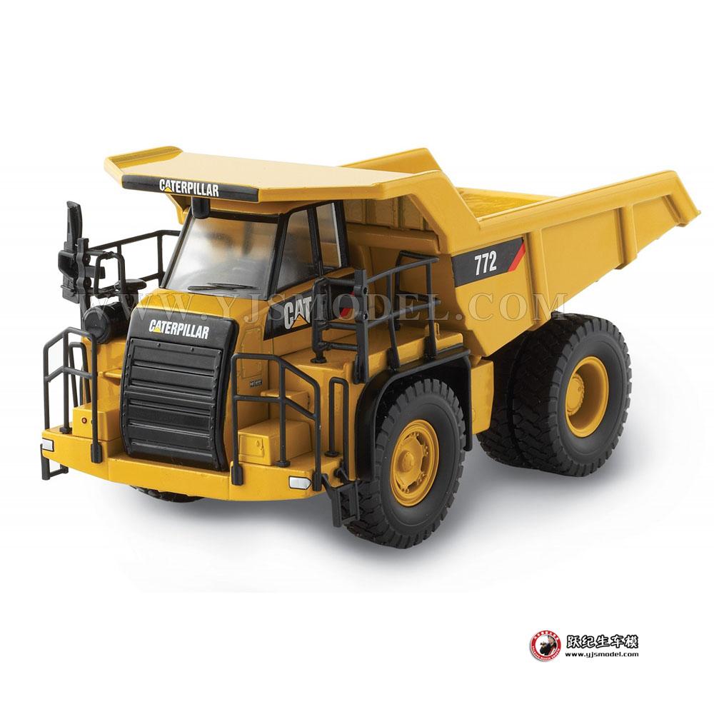 工程车模型_卡特彼列CAT 772 矿山运输车CAT 工程车模型 55147 1:50_1:50 ...