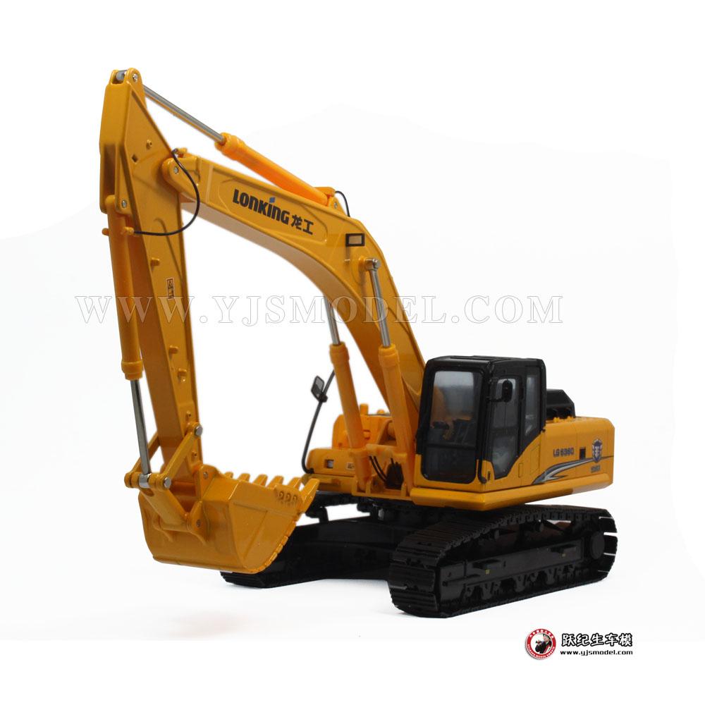龙工lg6360履带式液压挖掘机图片