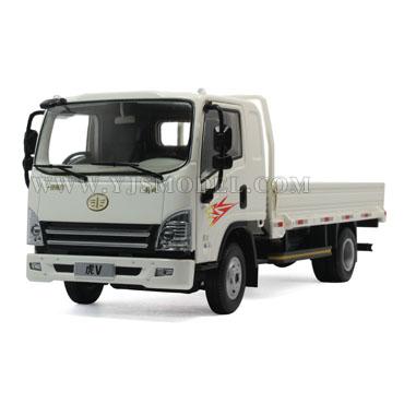 青岛解放虎v轻卡 汽车模型 原厂 1:24 白色