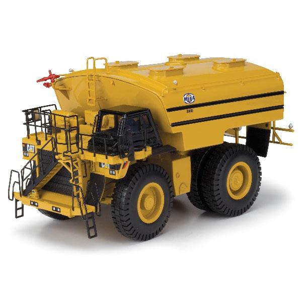 工程车模型_卡特彼勒mwt30大型矿用水箱卡车 工程车模型 黄色 1:50 55276_1:50 ...