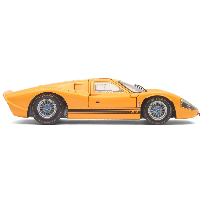 福特gt40 mk iv 1967年赛百灵12小时耐力赛原车 黄色