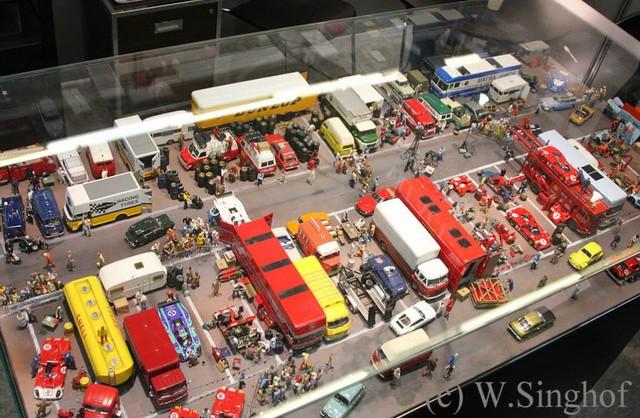 汽车模型——巧夺天工的场景制作
