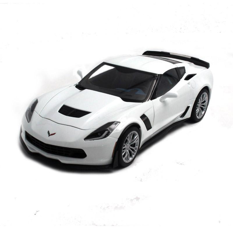 雪佛兰 克尔维特c7 z06 跑车 奥拓autoart 1:18 汽车模型 合金仿真