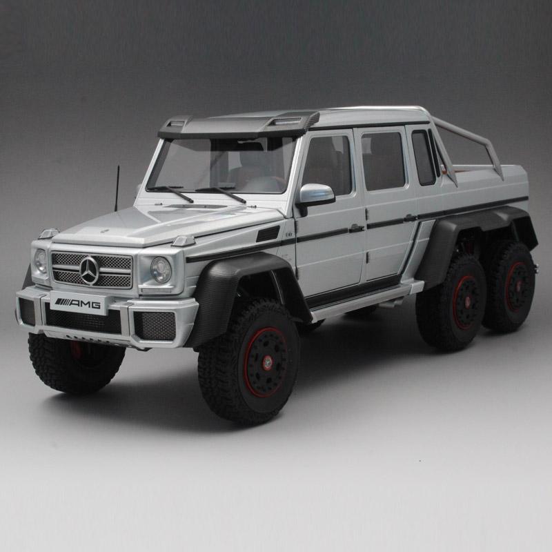 奥拓越野车_奥拓AUTOart 1:18 奔驰G63 6X6 SUV 越野车 汽车模型仿真车模 76301_1:18 ...