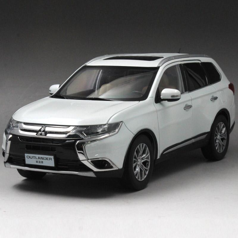 广汽三菱 原厂 16款全新欧蓝德 outlander 越野suv 汽车模型 1:18图片