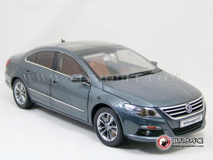 大众cc汽车模型_大众CC 汽车模型 一汽大众原厂 1:18 灰色-跃纪生汽车模型大世界