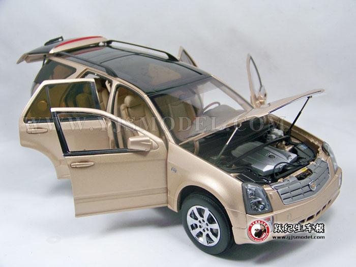 原厂版凯迪拉克srx汽车模型