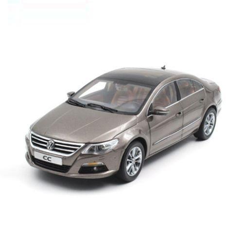 大众cc汽车模型_大众CC 汽车模型 一汽大众原厂 1:18 金色 1002014-跃纪生汽车模型大 ...