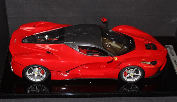 拉法拉利laferrari 树脂汽车模型 超豪华包装 bbr1:12
