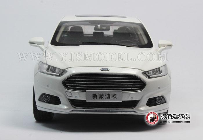 长安福特 新蒙迪欧 ford mondeo 2013新款 1:18 汽车模型 原厂 白色