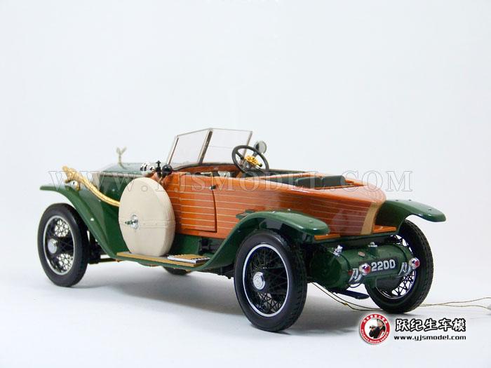 世界第一辆木头船型劳斯莱斯跑车_车模文化_高清图片