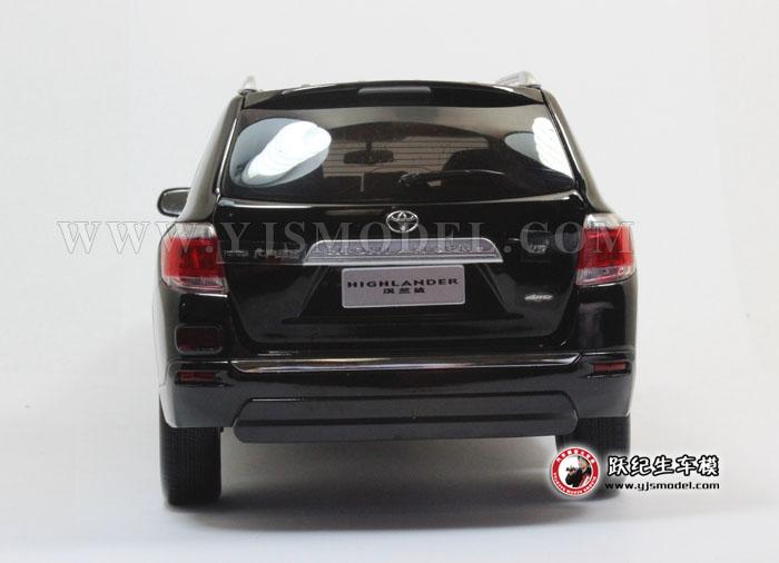2012新款丰田汉兰达 越野车模型 广汽丰田原厂