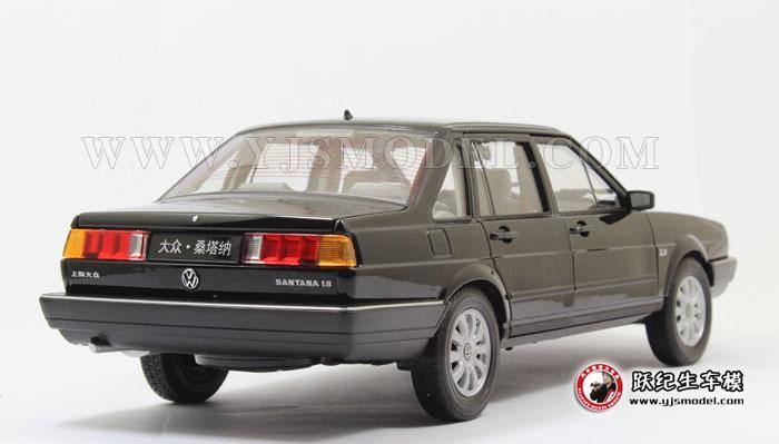 老款普桑塔纳 汽车模型